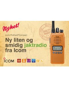 Icom Prohunt Compact Sikringsradio