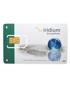 Iridium SIM-kort 600 minutter kontant