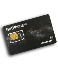IsatPhone SIM-kort 50 enheter kontant