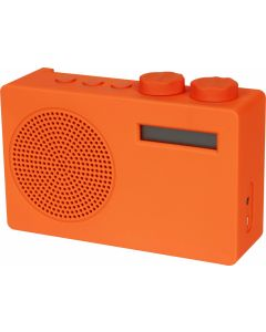 POP DAB / DAB+ / FM-radio orange